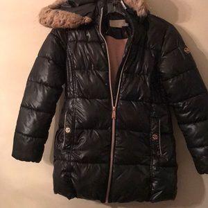 Michael Kors Girl's Puffer Jacket Size 10/12